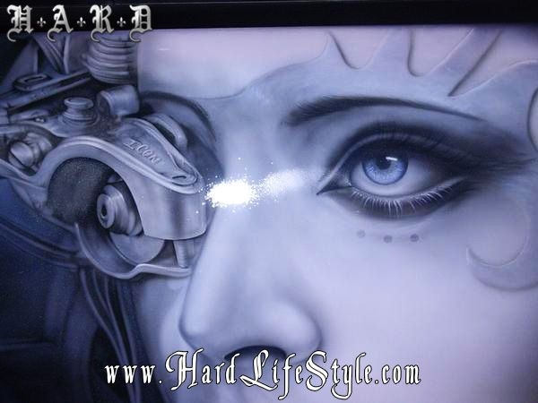 Corey Saint Claire Incredible Airbrush Art - HARD Lifestyle