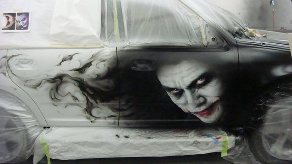 Photorealistic Joker