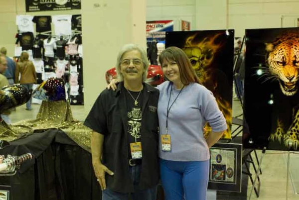 The Legend Sonny De Palma is dead... condolences to all the Staff of JustAirbrush.com