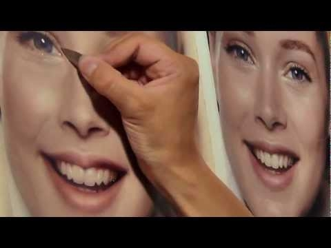 ▶ Marissa Oosterlee Airbrush Portrait - Straordinario - Airbrush Step by Step