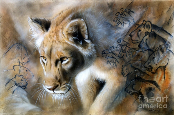 The Source Painting by Sandi Baker - The Source Fine Art Prints and Posters for Sale