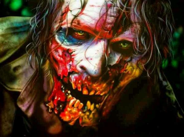 Walking Dead - Airbrush