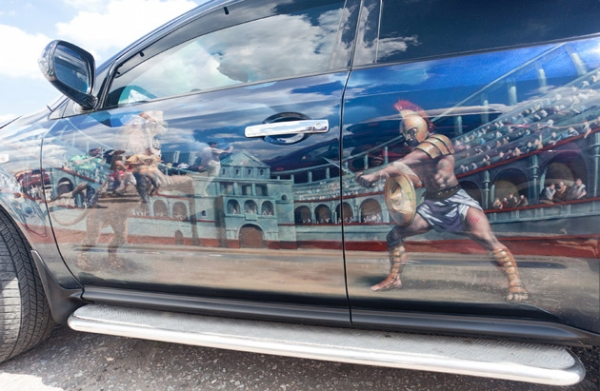 Awesome Airbrushed Car
