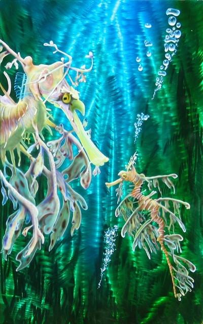 Crystal Dream Airbrush - Ground Metal Art