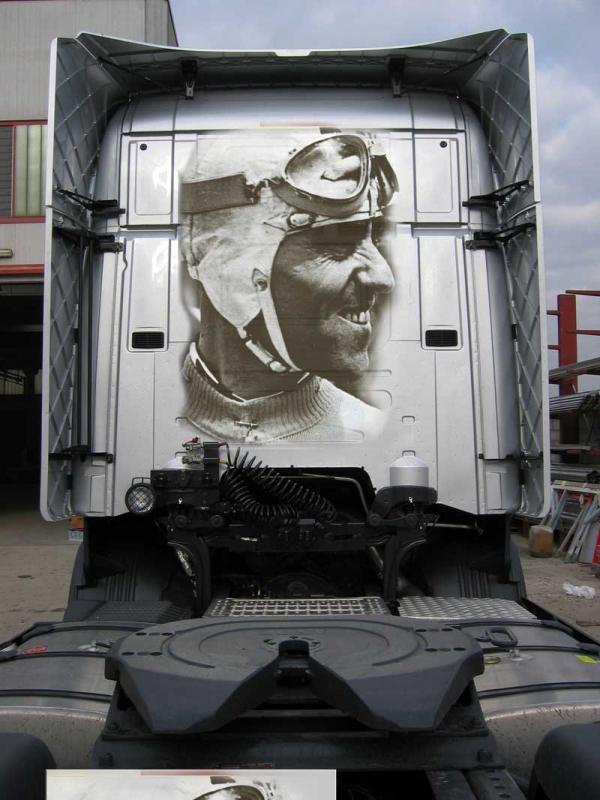"""""""Camion"""" Decorati - Tazio Nuvolari"""
