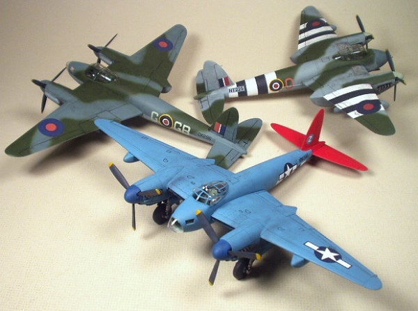 Fine Scale aircraft by Allan Butrick finished with Badger Legend Series airbrushes