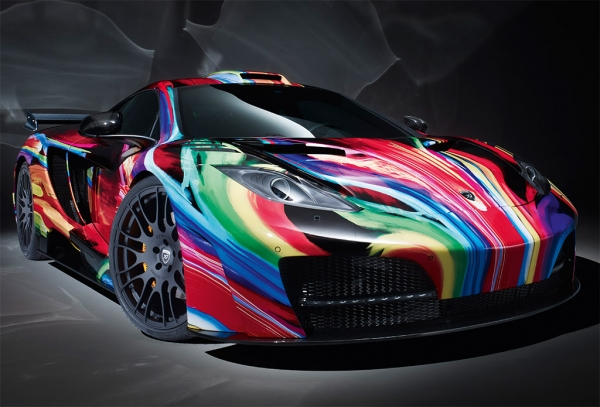 Absolute amazing Airbrush car