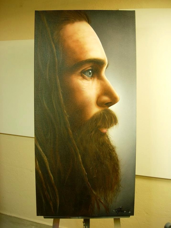 Promoe LTR-Airbrush on Canvas