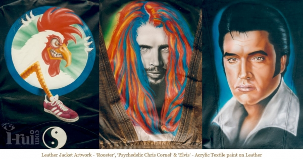 Airbrush Art Samples