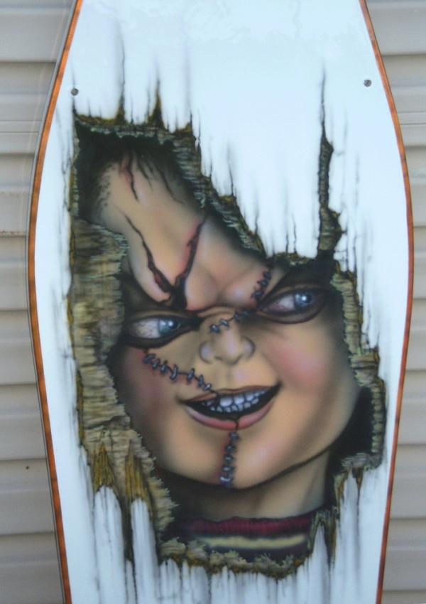 """Chucky""  table - CLOSE UP"