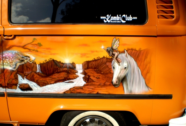 Kombi - side ( Unicorns)
