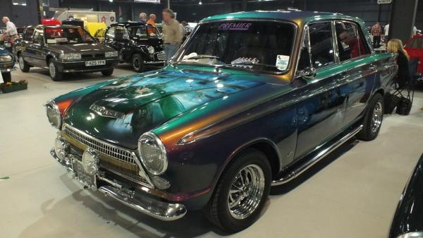 Custom Paint Classic Ford Cortina