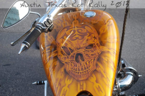 Austin Texas Rot Rally 2013: scary paint