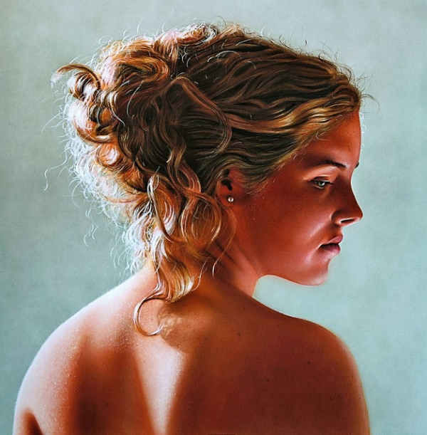 Airbrush photorealism by Johannes Wessmark