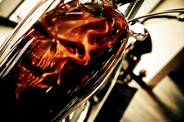 Ghost Rider HD Airbrush tank