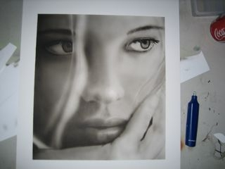 Black and White Airbrush Paintings in 10 Steps | Airbrush-Guidance