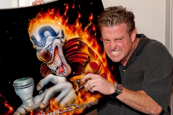 Chip Foose Mad Airbrush Artist
