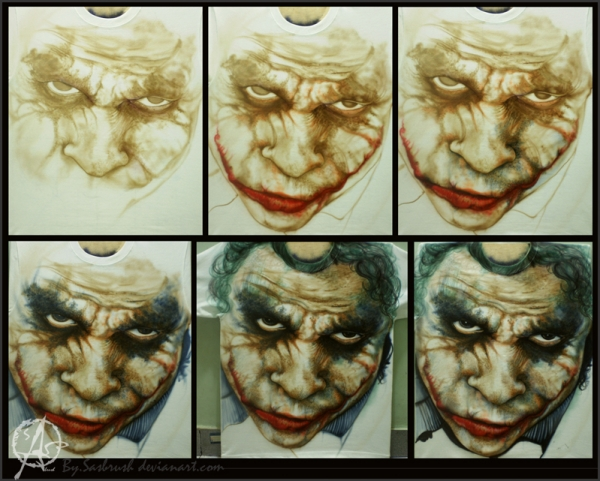 Step by step airbrush tshirt 2 by ~sasbrush on deviantART