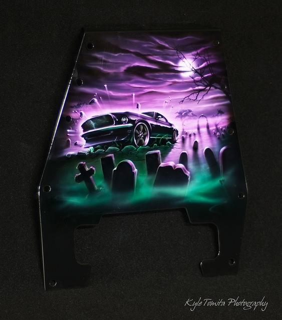 Frankenstang Painted Mustang