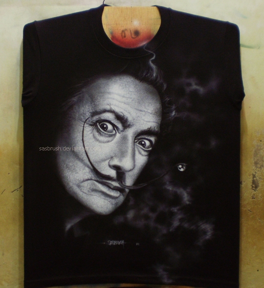 Salvador dali by ~sasbrush on deviantART