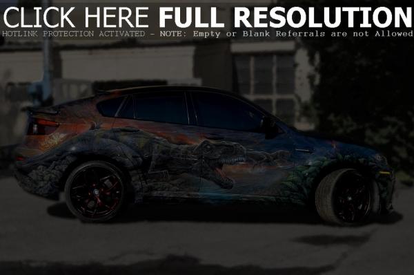 BMW X6M Hamman Car Airbrush