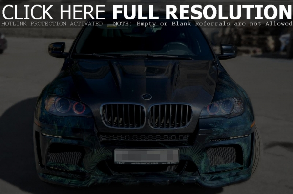 BMW X6M Hamman Car Airbrush
