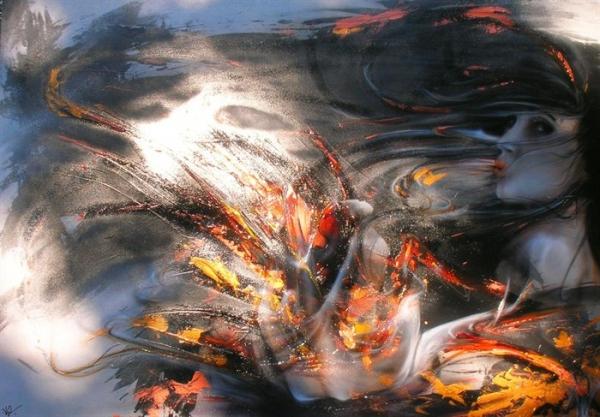 Airbrush Art - Beautiful Vision... by ArteKaos