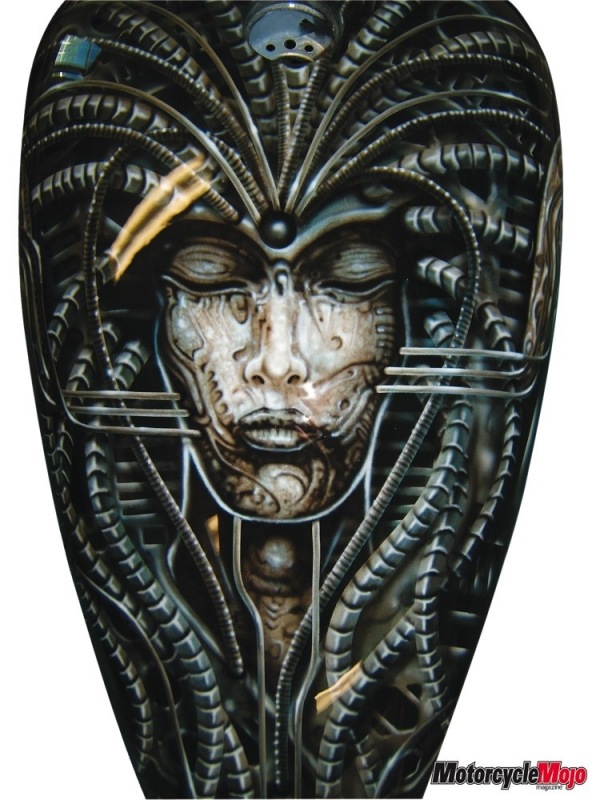 Giger Style Airbrush tank