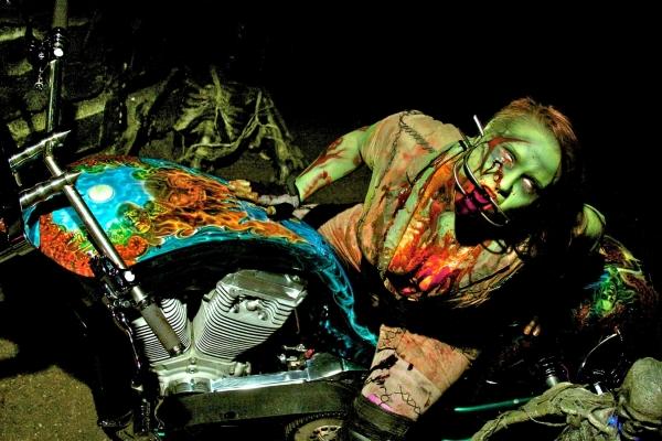 The Walking Dead fan Chopper starring Phrymeldahyde - My Airbrush Art