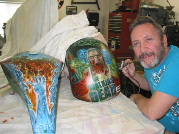before clearcoat - My Airbrush Art