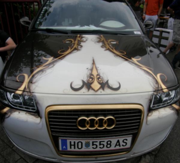 GTI Meeting: Audi Airbrush by CynderxNero