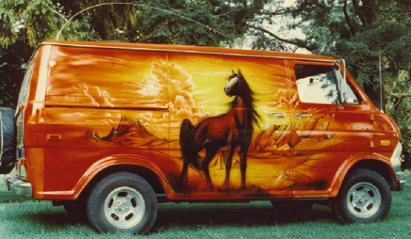 When Custom Vans Were Cool
