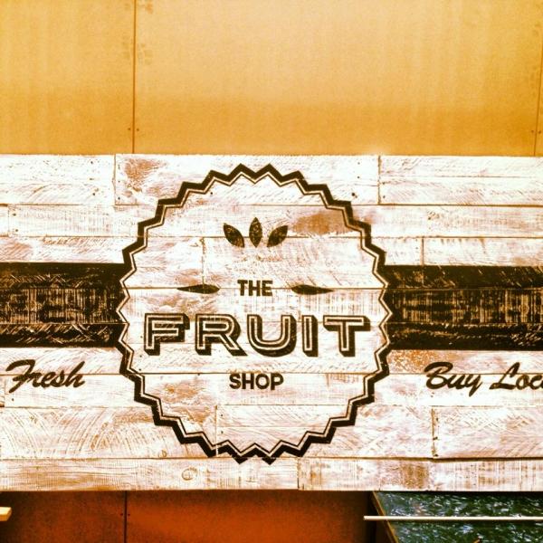 The Fruit shop Sign