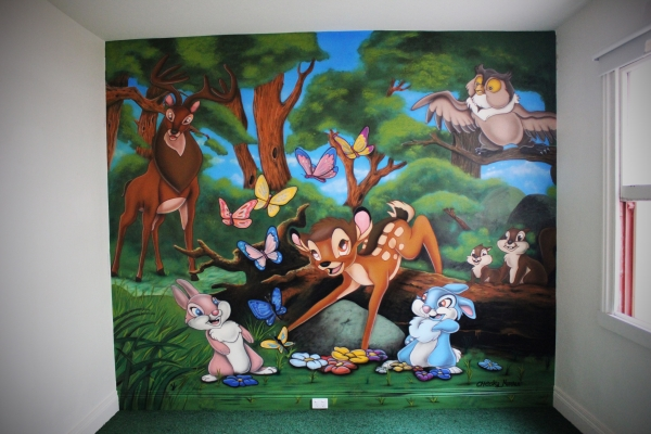 Bambi mural