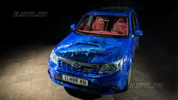 airbrush от the Subaru Forester tS
