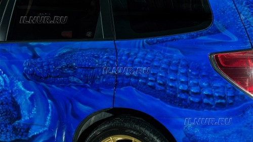 Blue crocodiles from Moscow!