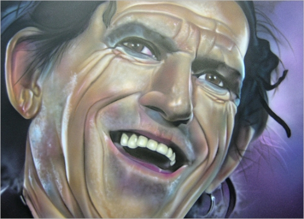 Keith Richards Panel