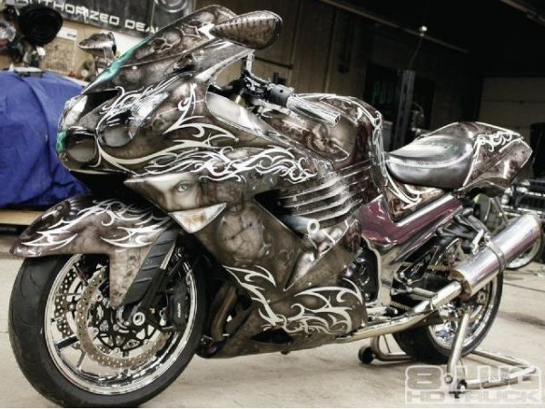 Super bike - total airbrush