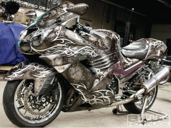 Super bike - total airbrush