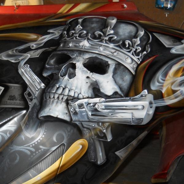Ducati Stencil Paint Jobs