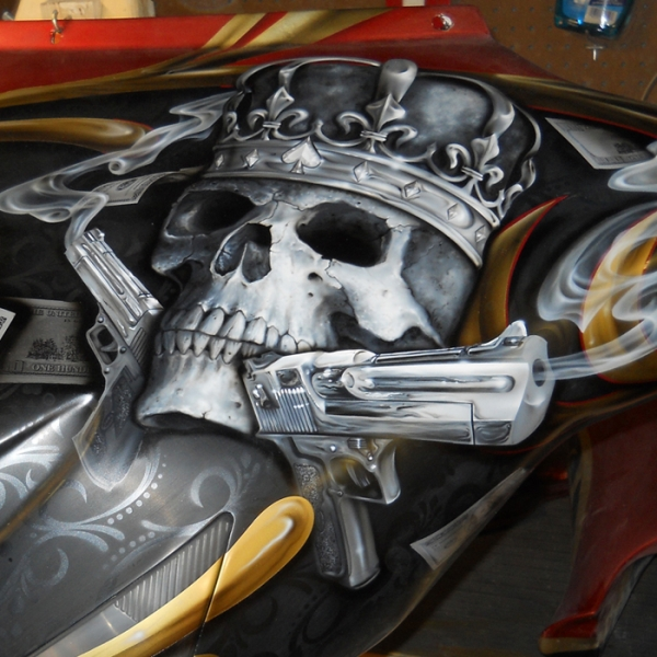 Airbrush Gallery | KandyMan Kustom Paint