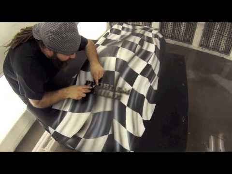 Step by Step Checkerboard Hood video - Creative Learning