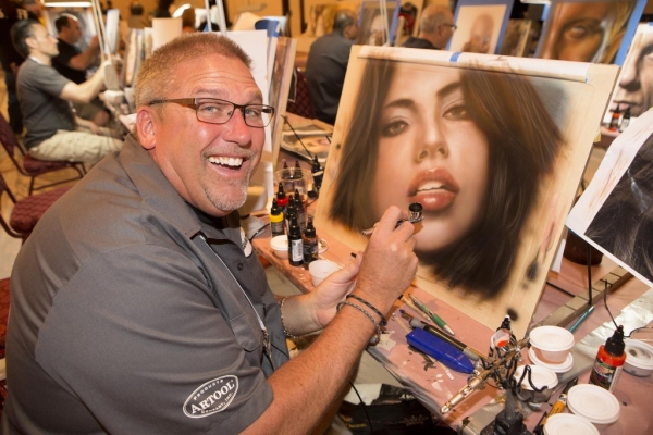 Furious Airbrush RSS Feeds | POWER PORTRAITS CLASS PREVIEW! THE LAS VEGAS AIRBRUSH GETAWAY, OCT 6-10!