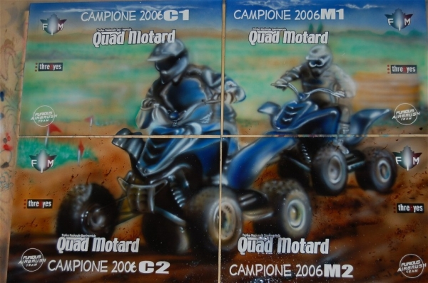 FIM Prizes Italian Quad Championship 2006