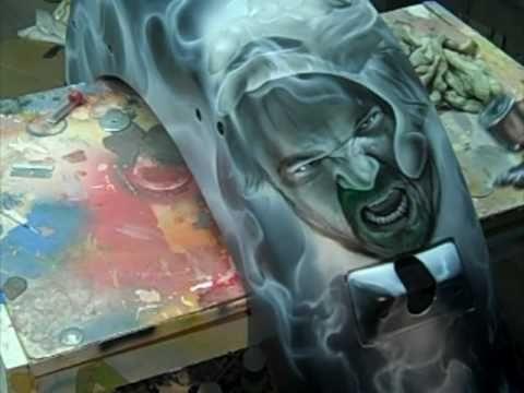 #Airbrush Kustom Kandy Effects - YouTube - Airbrush Step by Step