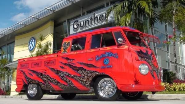 KilometerMagazine.com - Airbrushed Double Cab - Gunther style
