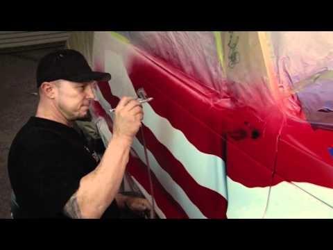 Ryno Templeton - Airbrush Videos