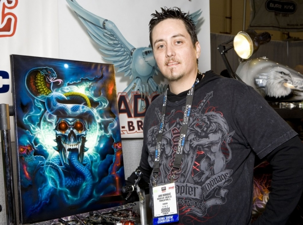 Airbrush Great Jaime Rodriguez Has Died - Airbrush Action's Official Blog - This Is My Life
