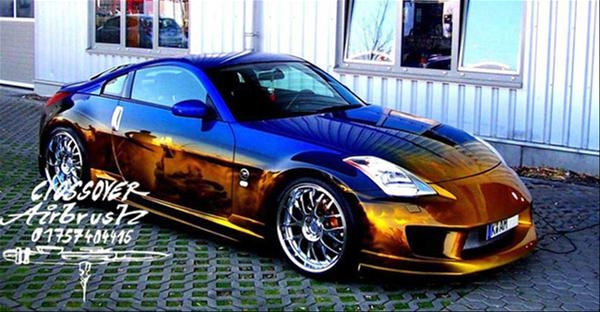Nissan 350z by crossover-airbrush.com