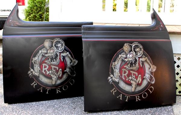 Rat Rod Doors. House of Kolor.